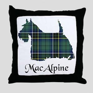 Terrier - MacAlpine Throw Pillow