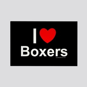 Boxers Rectangle Magnet Magnets
