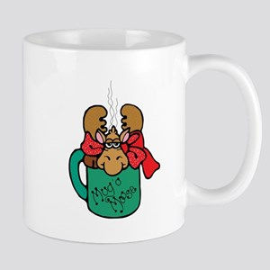 Cute Moose in a Mug Mug