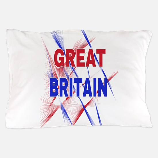 GREAT BRITAIN Pillow Case