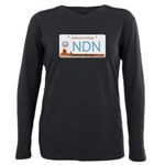 navajo nation ndn Plus Size Long Sleeve Tee