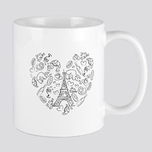Paris Love Mugs