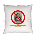 Columbus Not a Hero Everyday Pillow