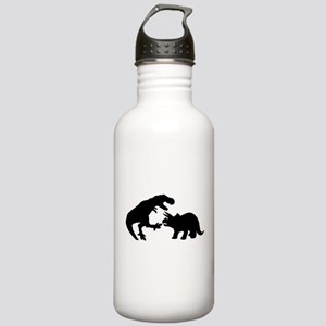 Tyrannosaur and Tricer Stainless Water Bottle 1.0L