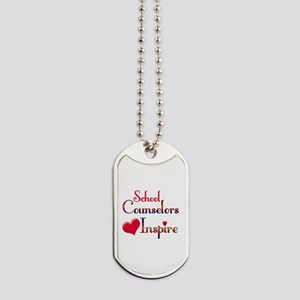 School Counselor Dog Tags