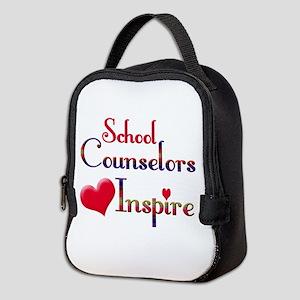 School Counselor Neoprene Lunch Bag