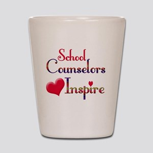 School Counselor Shot Glass