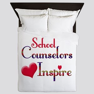 School Counselor Queen Duvet