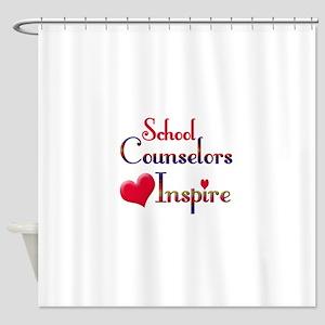 School Counselor Shower Curtain