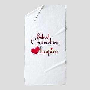 School Counselor Beach Towel