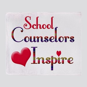 School Counselor Throw Blanket