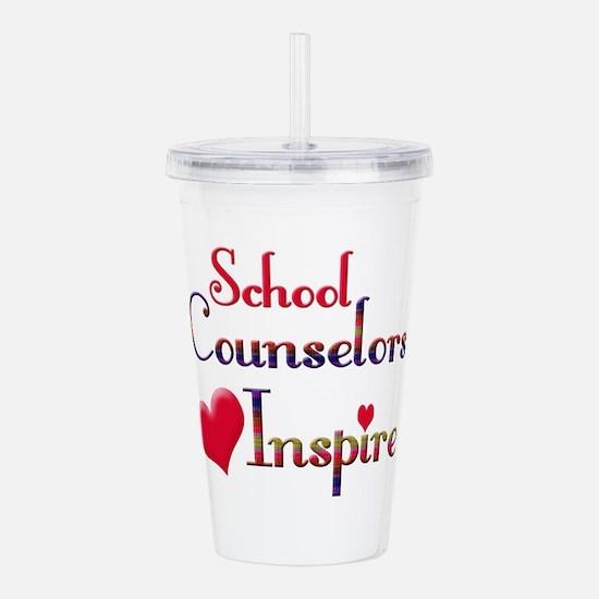 School Counselor Acrylic Double-wall Tumbler