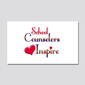 School Counselor Car Magnet 20 x 12