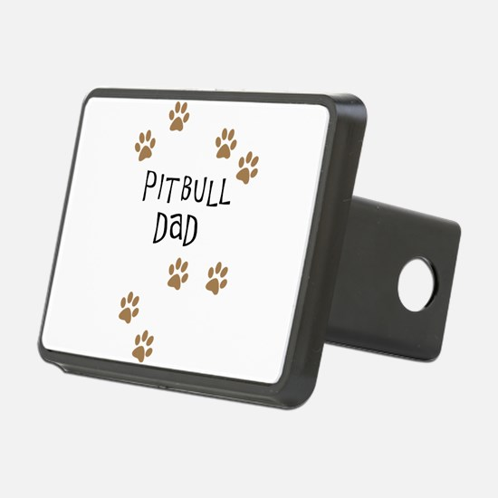 Pitbull Dad Hitch Cover