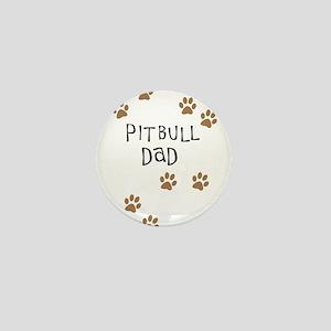 Pitbull Dad Mini Button