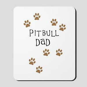 Pitbull Dad Mousepad