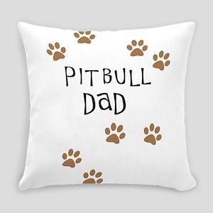 Pitbull Dad Everyday Pillow