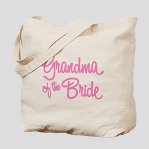 Grandma of the Bride Tote Bag