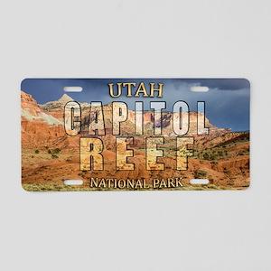 Capitol Reef National Park Aluminum License Plate
