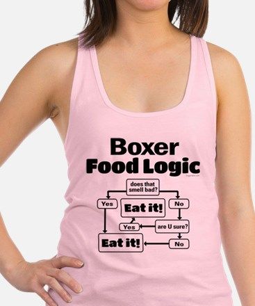 Boxer Food Racerback Tank Top