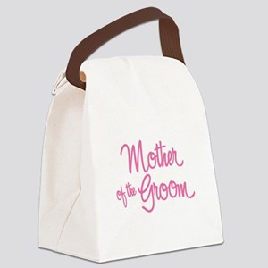 Mother of the Groom Canvas Lunch Bag