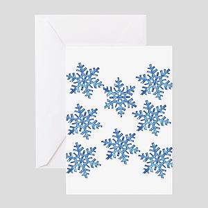 Snowflake Greeting Cards