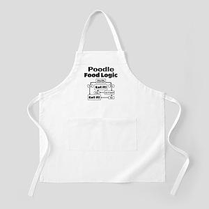 Poodle Food Apron