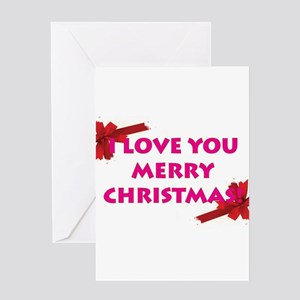 ChristmasLove Greeting Cards