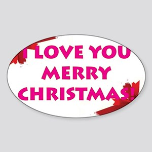 ChristmasLove Sticker