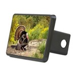 Wild Turkey Gobbler Rectangular Hitch Cover