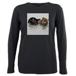 California Sea Otter Plus Size Long Sleeve Tee