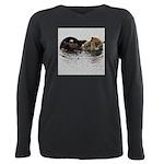 California Sea Otter Plus Size Long Sleeve Tee