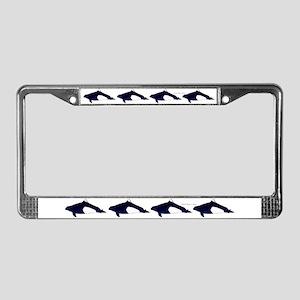 Dall's Porpoise License Plate Frame