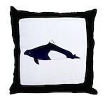 Dall's Porpoise Throw Pillow