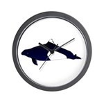 Dall's Porpoise Wall Clock