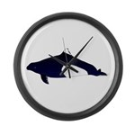 Dall's Porpoise Large Wall Clock