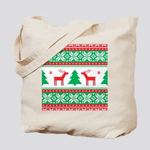 Ugly Christmas Sweater Tote Bag