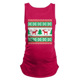 ugly christmas maternity tank tops cafepress - Maternity Christmas Sweater