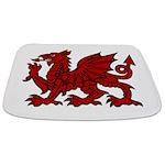 Red Welsh Dragon Bathmat