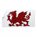 Red Welsh Dragon Beach Towel