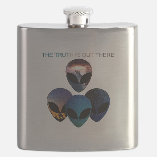 Funny Aliens Flask