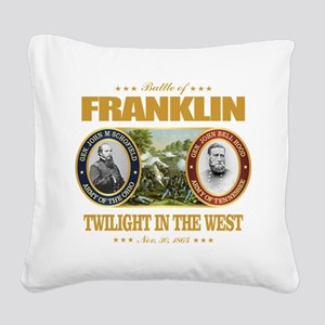Battle of Franklin (FH2) Square Canvas Pillow