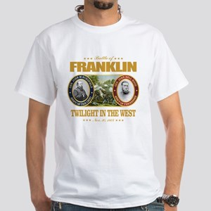 Battle of Franklin (FH2) White T-Shirt