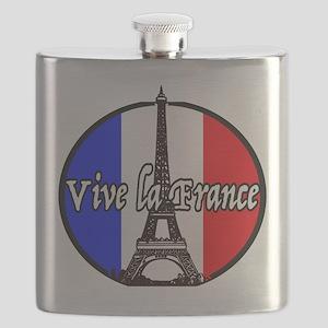 Vive la France Flask