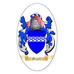 Magill Sticker (Oval 50 pk)