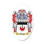 Maggs Oval Car Magnet