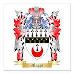 Maggs Square Car Magnet 3