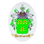 Maggi Oval Ornament