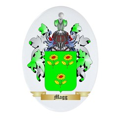 Magg Oval Ornament