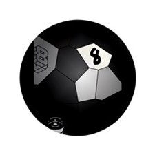 8 Ball Illusion 3D Button